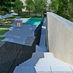 projet, murs, piscine