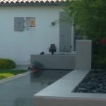 piscine, bassin, maison