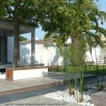 terrasse, île de ré, plantes