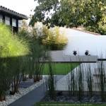 aménagement, plantes, architecte