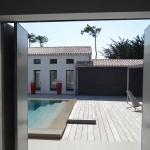 piscine, île de ré, terrasse