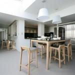 cuisine, intérieur, table