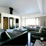 salon, intérieur, design