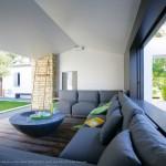 salon, canapé, terrasse