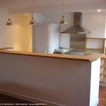 cuisine, maison, intérieur