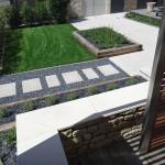 aménagement, jardin, terrasse