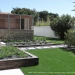 jardin, île de ré, extérieur