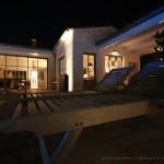 terrasse, nuit, île de ré
