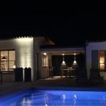 piscine, éclairage, île de ré
