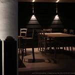 terrasse, salon, nuit
