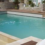 piscine, jardin, île de ré