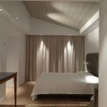 chambre, lit, maison, architecte