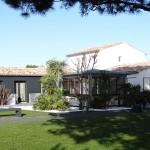 maison, jardin, architecture