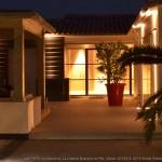 jardin, nuit, architecte
