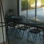 table, intérieur, architecte, décoration