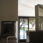 cheminée, intérieur, design