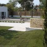 jardin, piscine, île de ré